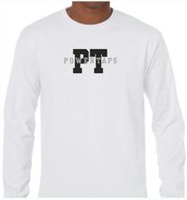White Long-Sleeve Unisex Shirt: